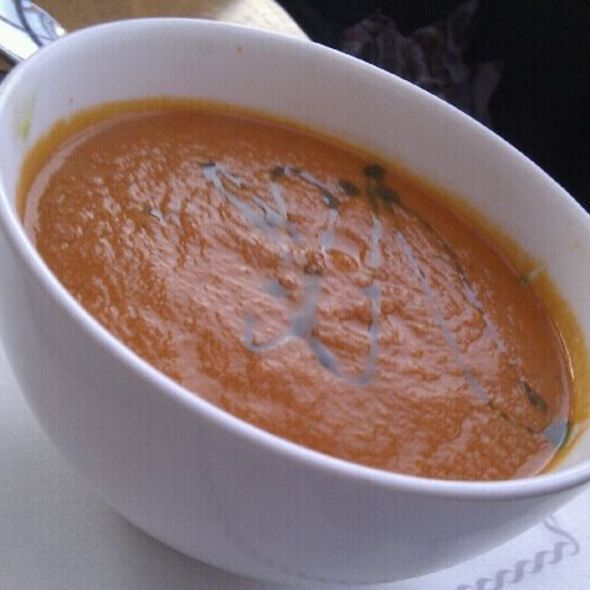 Plum Tomato and Basil Soup