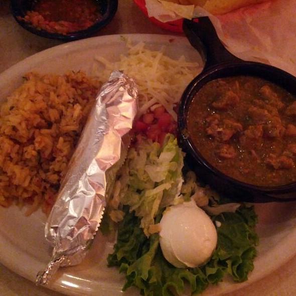 Pork Carnitas Enchilada @ Chuy's