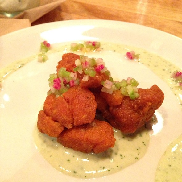 Buffalo Sweetbreads @ The Corner Store