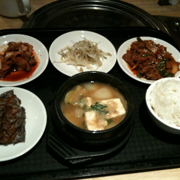Korean Lunch @ Hi Lan Chinese