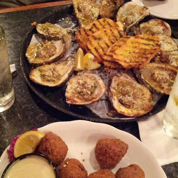 Char Grilled Oysters @ Parrain's Seafood