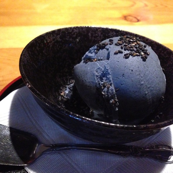 Black Sesame Ice Cream @ Kiriri Japanese Cuisine & Sushi