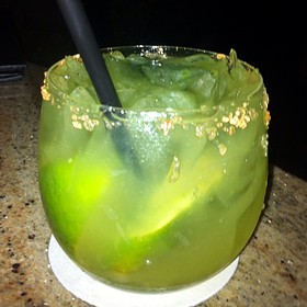 Poblano Pepper Margarita
