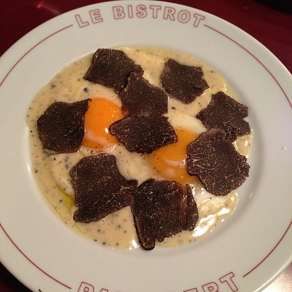 Eggs With Truffles @ Bistrot Paul Bert