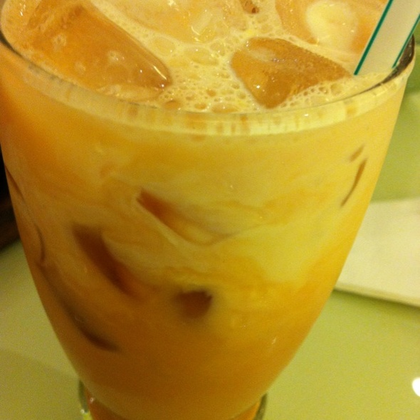 Thai Milk Tea @ Steak Lao @ Central Plaza Chaengwatthana