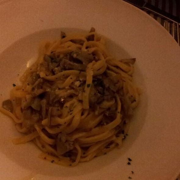 tagliolini with artichoke
