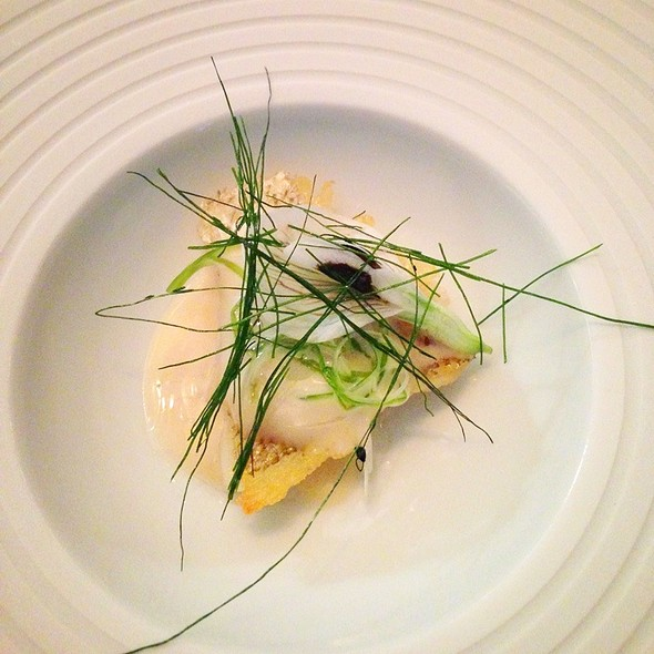 Japanese Turbot With Sencha Sauce