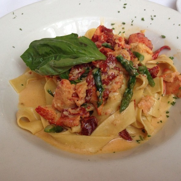 Pappardelle With Maine Lobster - Bistro Garden at Coldwater, Studio City, CA