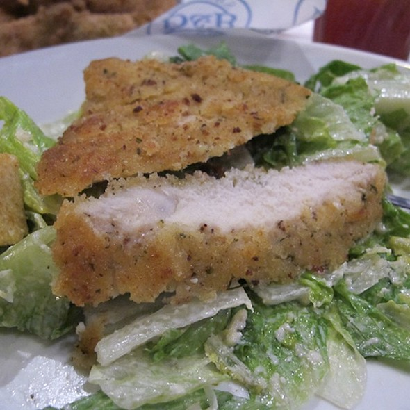 Parmesan Crusted Chicken With Caesar Salad @ Dave & Buster's®