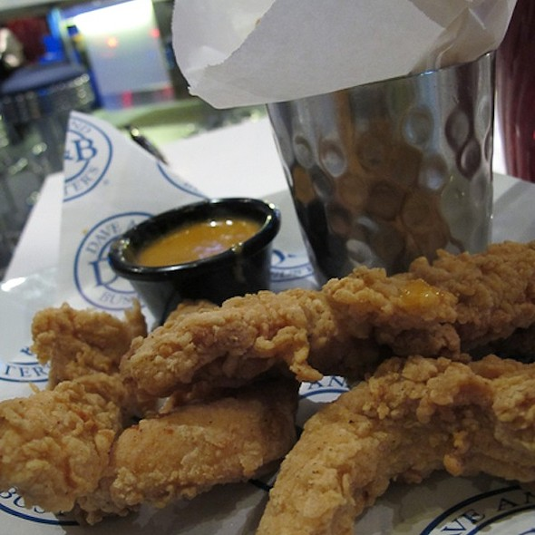goldfingers and fries @ Dave & Buster's®
