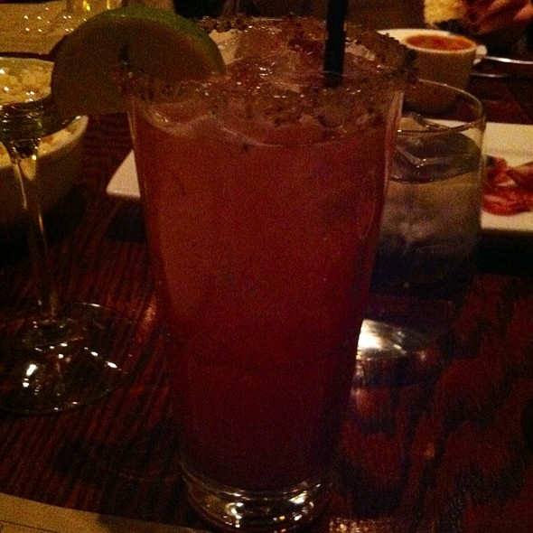 Hibiscus Margarita - The SHED at Glenwood, Atlanta, GA