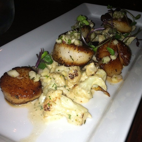 Scallops, Cauliflower Gratin - The SHED at Glenwood, Atlanta, GA