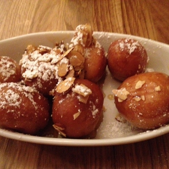 Teiglach Hungarian Donuts With Toasted Almonds - DGS Delicatessen, Washington, DC
