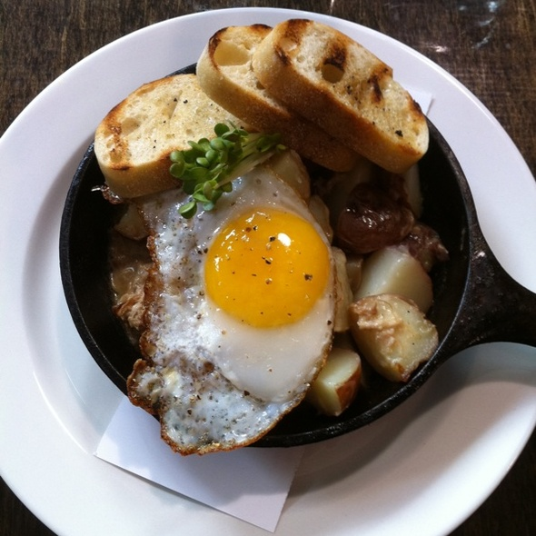 Duck Confit and Potato Hash