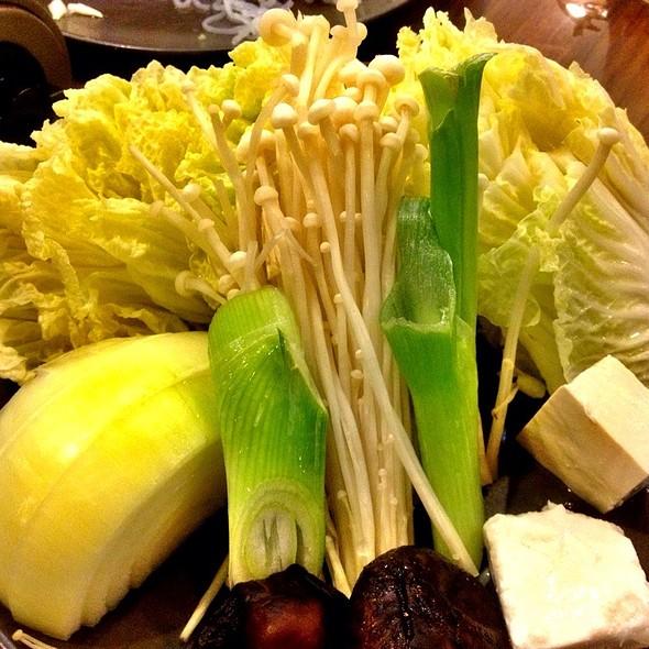 Vegetables @ Akiyoshi (Taisin Square)