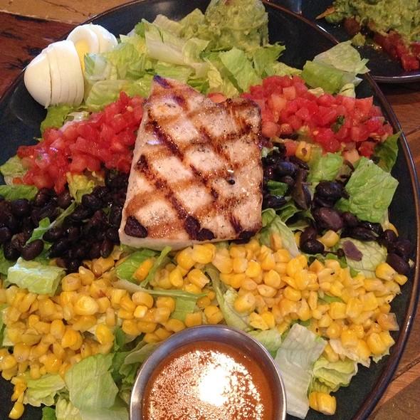 Mexican Cobb Salad (Sub Mahi) - Rocco's Tacos & Tequila Bar - PGA, Palm Beach Gardens, FL