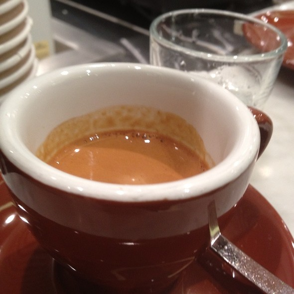 Single-Origin Espresso @ Blue Bottle Coffee