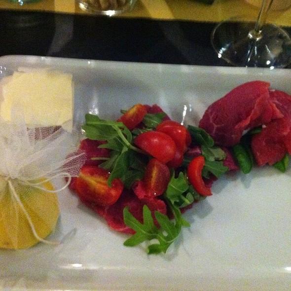 Trittico Di Carne Cruda @ Macelleria Ristorante