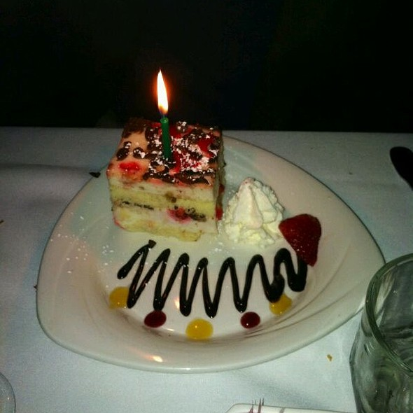 Birthday cake - Charlie Gitto's 'On the Hill', St. Louis, MO
