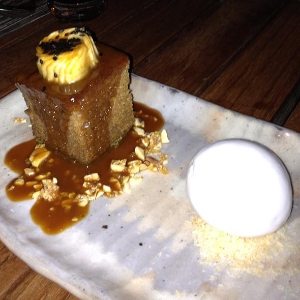 Green Tea And Banana Cake - Zuma Japanese Restaurant - Miami, Miami, FL