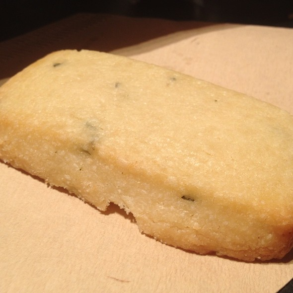 Olive Oil Shortbread @ Blue Bottle Coffee