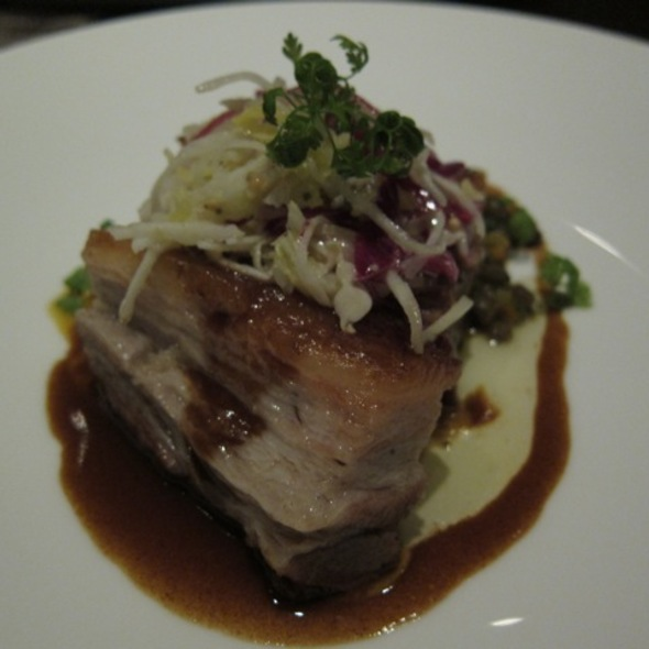 Cider Braised Pork Belly @ Sepia
