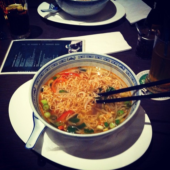 Shrimp Noodles @ Wolvenstraat