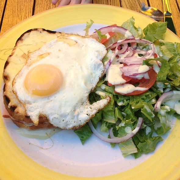 Croque Madame - Banana Cafe, Key West, FL