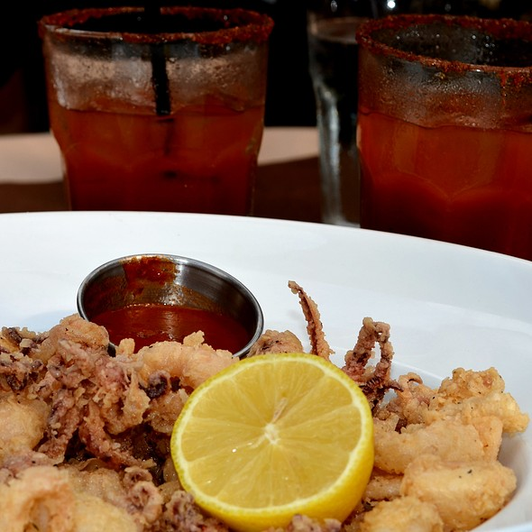Fried Calamari @ Mia Bella