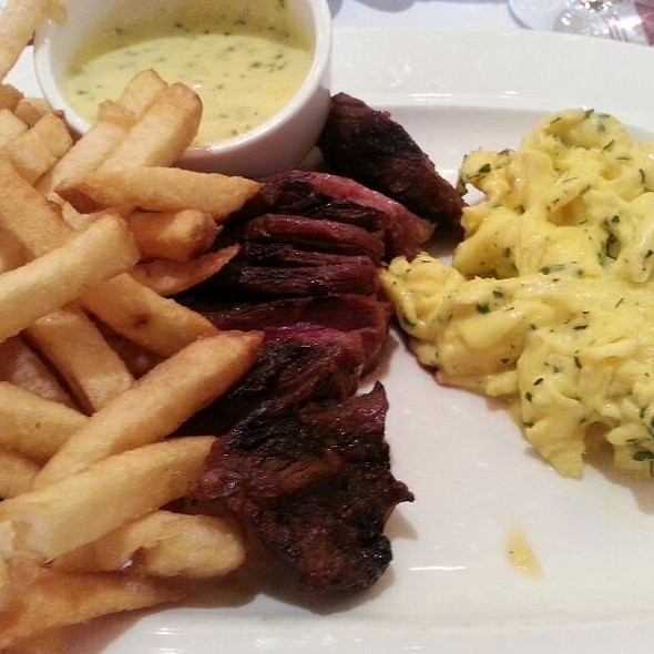 Steak Frites And Eggs @ Bistro Niko