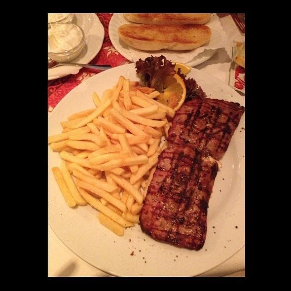 Steak Filled With Sheep Milks Cheese @ Restaurant Montenegro