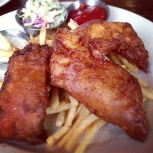 Fish and Chips @ Mission Rock Resort