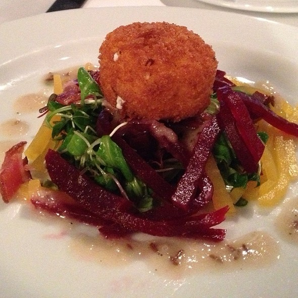 Crispy Goat Cheese Beignet - Red Hat on the River, Irvington, NY