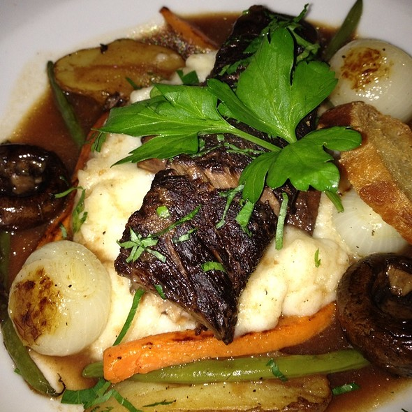 Beef Short Rib Bourguignon - Red Hat on the River, Irvington, NY