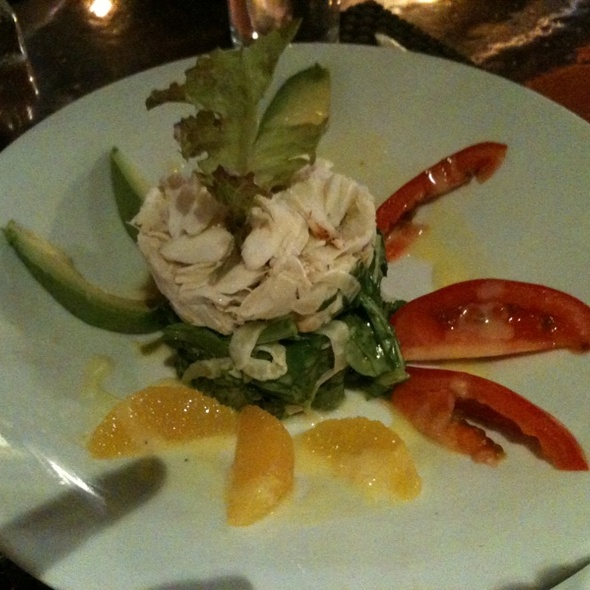 Crab Salad @ Banc Cafe