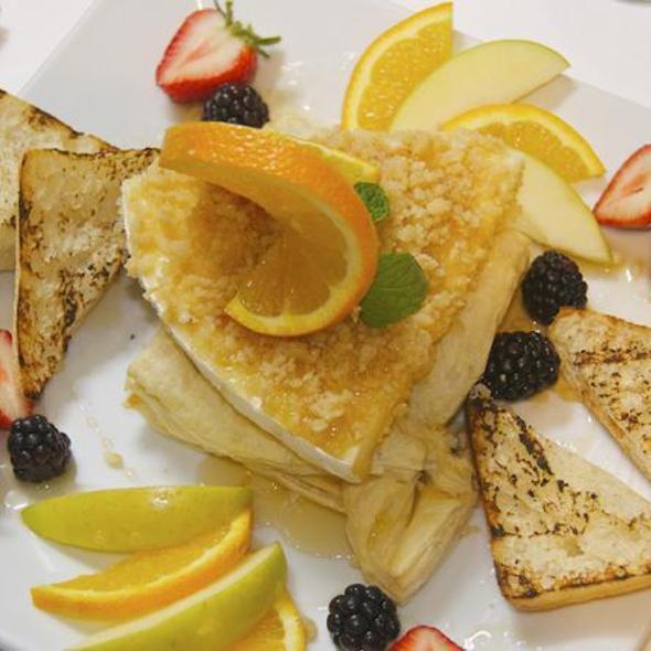 Macadamia Crusted Brie - Fin Seafood Restaurant, Newport News, VA
