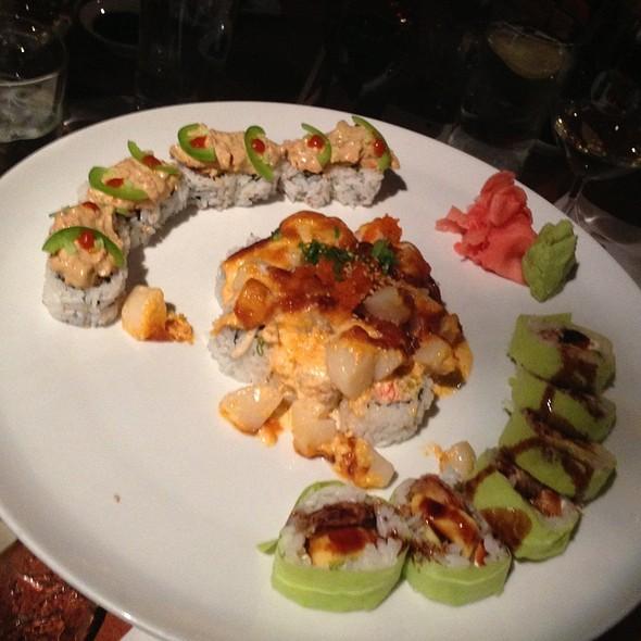 Godzilla, Deluxe California, Dynamite Roll - Steel Restaurant & Lounge - Dallas, Dallas, TX