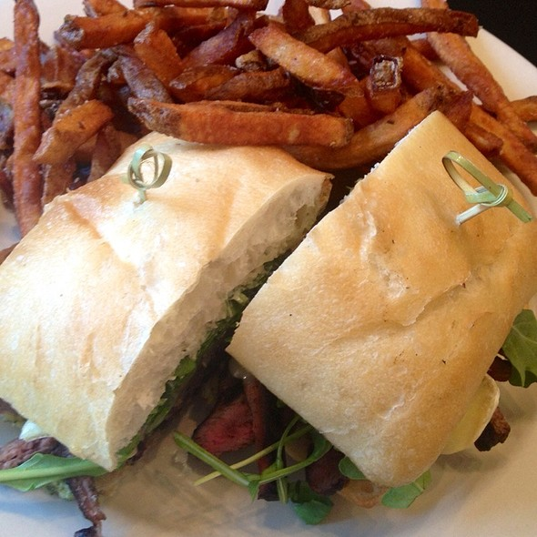 Grilled New York Steak Sandwich - Grassroots (fka Deleece), Chicago, IL