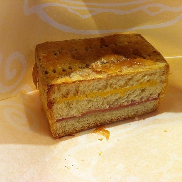 American Bread Sandwich With Ham @ Dunkin Donuts  新店佳瑪店