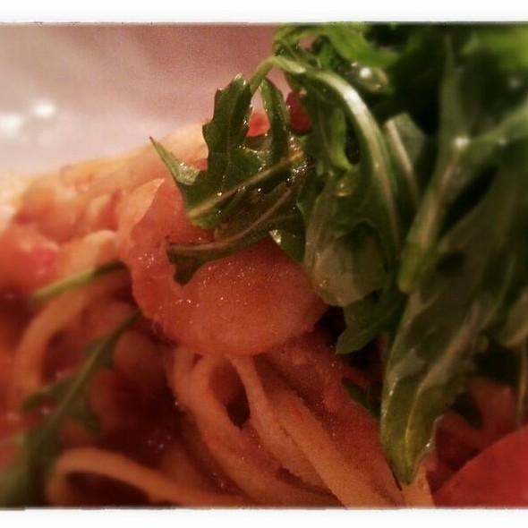 Garlic Prawns With Chilli On Linguine @ Jamie's Italian Dundrum