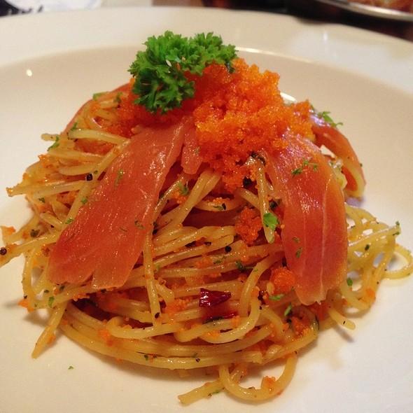 Spaghetti Salmon Ebiko @ Cafe & Etcetera By Kloset