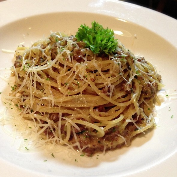 Lamb Ragout Spaghetti @ Cafe & Etcetera By Kloset