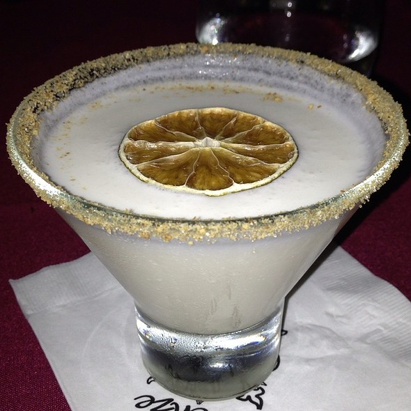 Key Lime Martini - Cafe Firenze, Moorpark, CA
