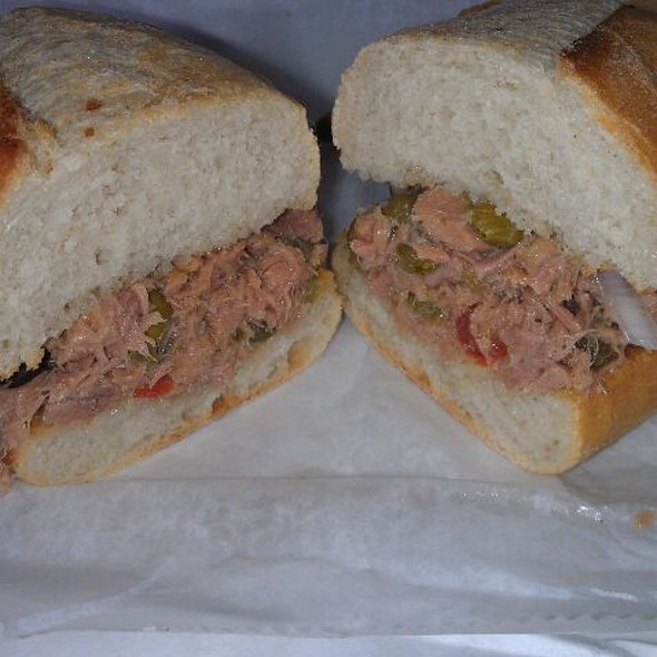 Italian Tuna Sandwich  @ Mozzarella Fella