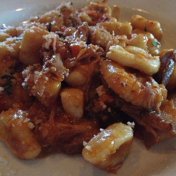 Gnocchi With Braised Duck Ragu - Lidia's Restaurant, Kansas City, MO