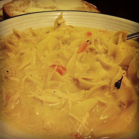 Scratch Made Chicken Noodle Soup @ Giannotti's Bistro & Grille