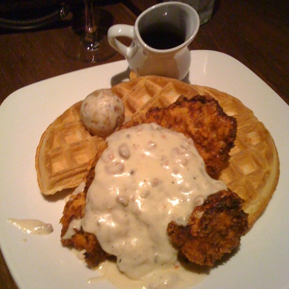 Chicken and Waffles @ Cafeteria 15L