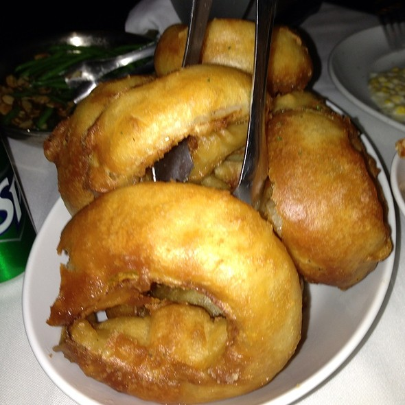 Onion Rings - Mastro's Steakhouse - Costa Mesa, Costa Mesa, CA