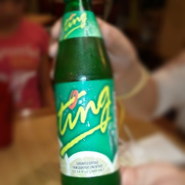Ting Soda @ D'Caribbean Curry Spot