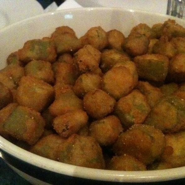 Fried Okra @ Reo's Ribs